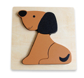 Discoveroo: Wooden Chunky Puzzle - Puppy