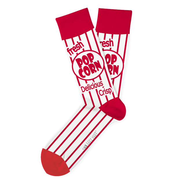 Two Left Feet: Movie Night Everyday Socks - Big