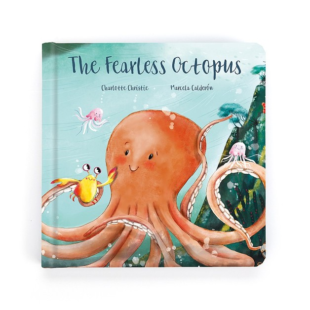 Jellycat: The Fearless Octopus Book - Odell Octopus