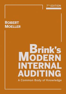 Brink's Modern Internal Auditing: A Common Body of Knowledge by Robert R. Moeller image
