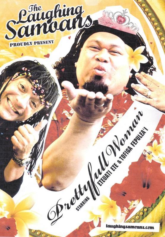 The Laughing Samoans - Prettyfull Woman on DVD