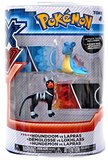 XY Pokémon Figures - 2 Pack - Houndoom vs Lapras