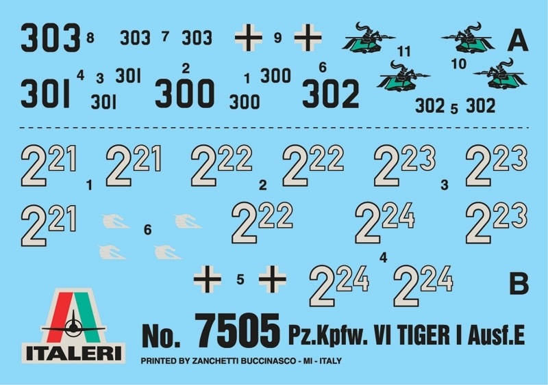 Italeri: 1/72 Pz. Kpfw. VI Tiger - Fast Assembly Kit image