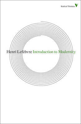Introduction to Modernity by Henri Lefebvre image