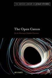 The Open Canon by Avi Sagi