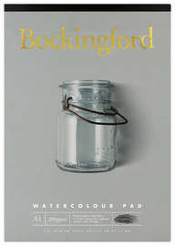 Bockingford: A4 200GSM Watercolour Pad - 20 Leaf