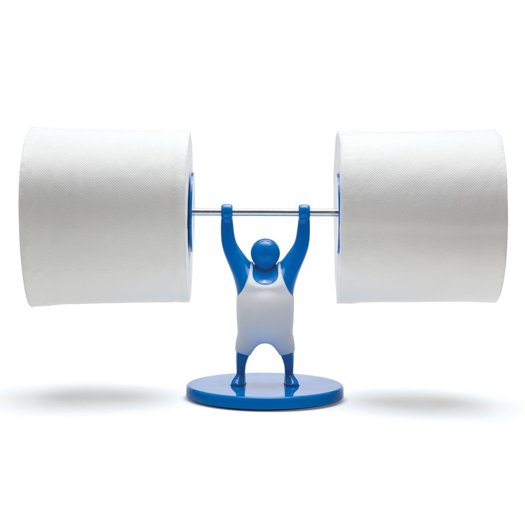 Monkey Business: Mr T Roll Holder (Blue) image