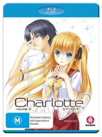 Charlotte: Volume 2 - (Episodes 8-13) on Blu-ray