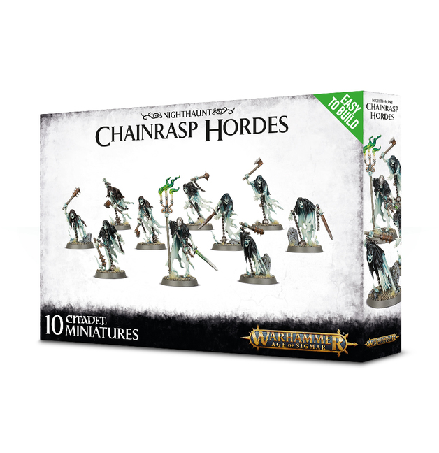 Warhammer Age of Sigmar: Easy to Build Chainrasp Hordes