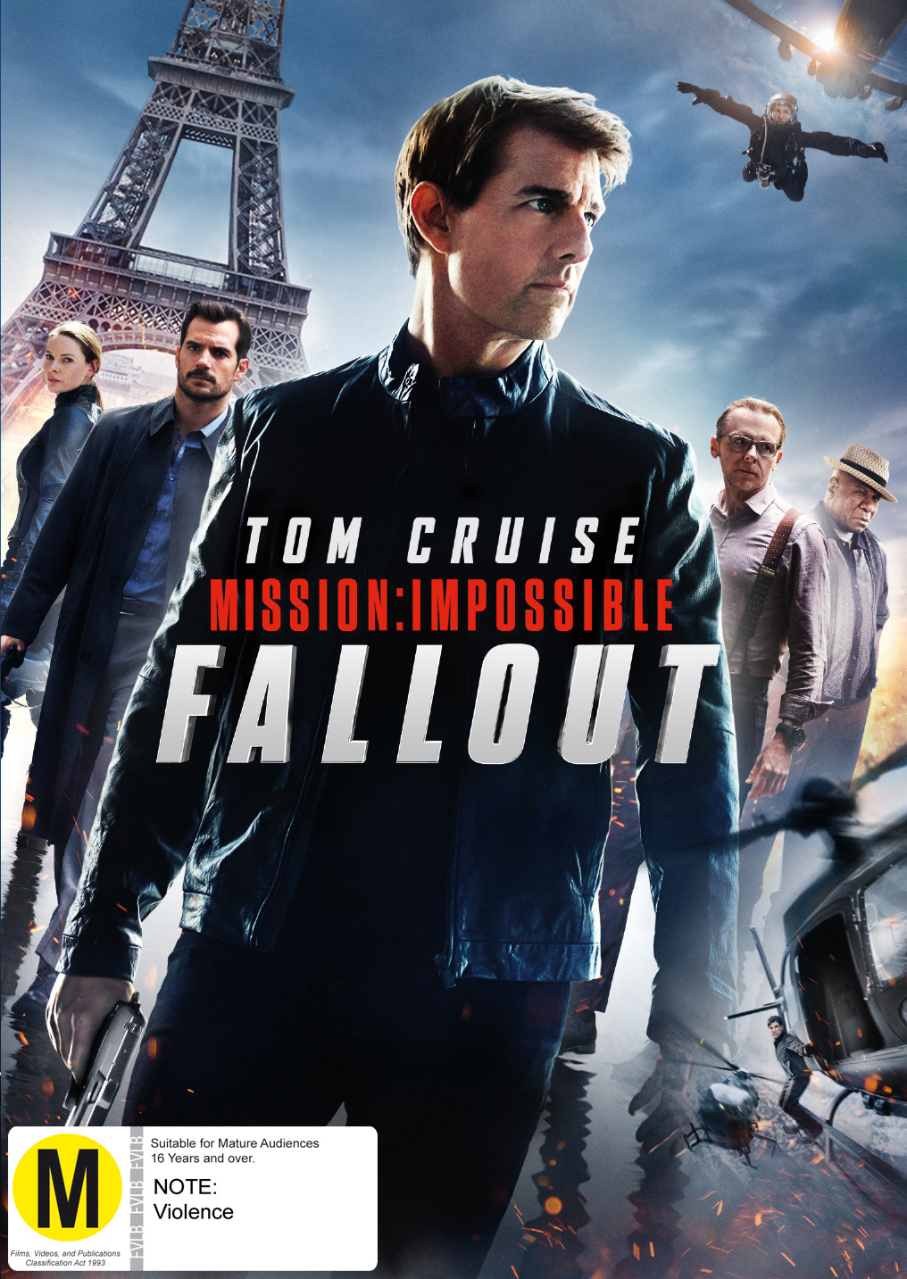 Mission Impossible: Fall Out on DVD image