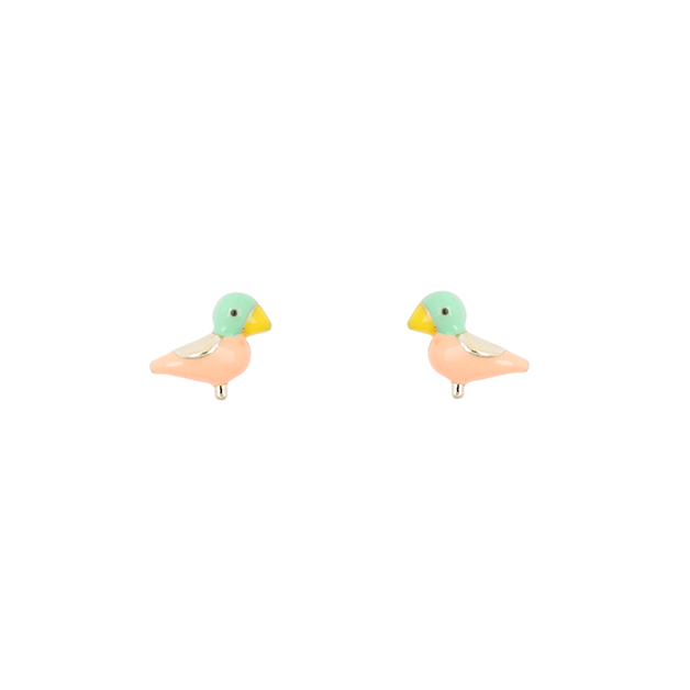 Short Story: Earring Sparrow Pink