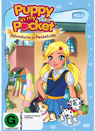Puppy in My Pocket: Volume 6 on DVD