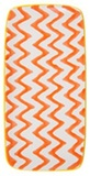 General Eclectic Chevron Rectangle Plate - Orange