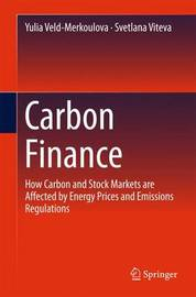 Carbon Finance by Yulia Veld-Merkoulova