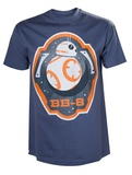 Star Wars: BB-8 & Stars T-Shirt - XL