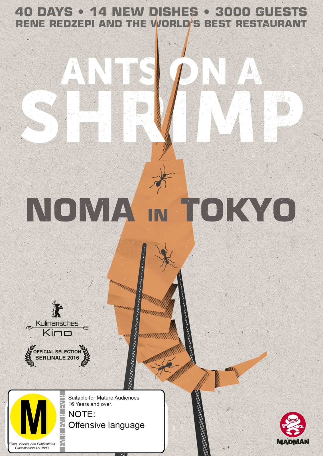 Ants On A Shrimp: Noma In Tokyo on DVD image