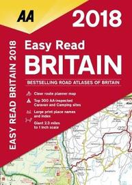 AA Easy Read Atlas Britain by AA Publishing