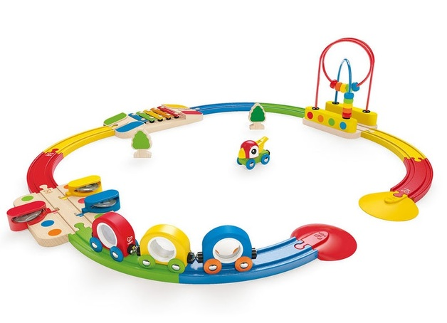 Hape: Sights & Sounds Railway Set