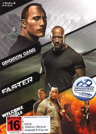 Dwayne Johnson Box Set on DVD