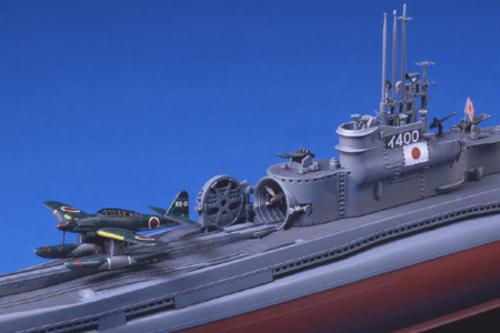 Tamiya 1/350 Japanese Navy Submarine I-400 - Model Kit image