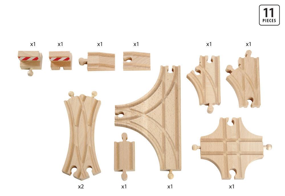 Brio: Railway - Advanced Expansion Pack (11 Pieces) image
