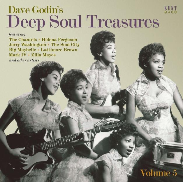 Dave Godin's Deep Soul Treasures by Various
