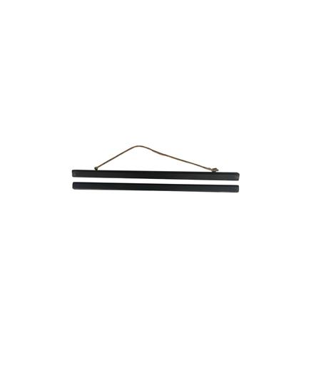 Magnetic Poster Hanger - Black