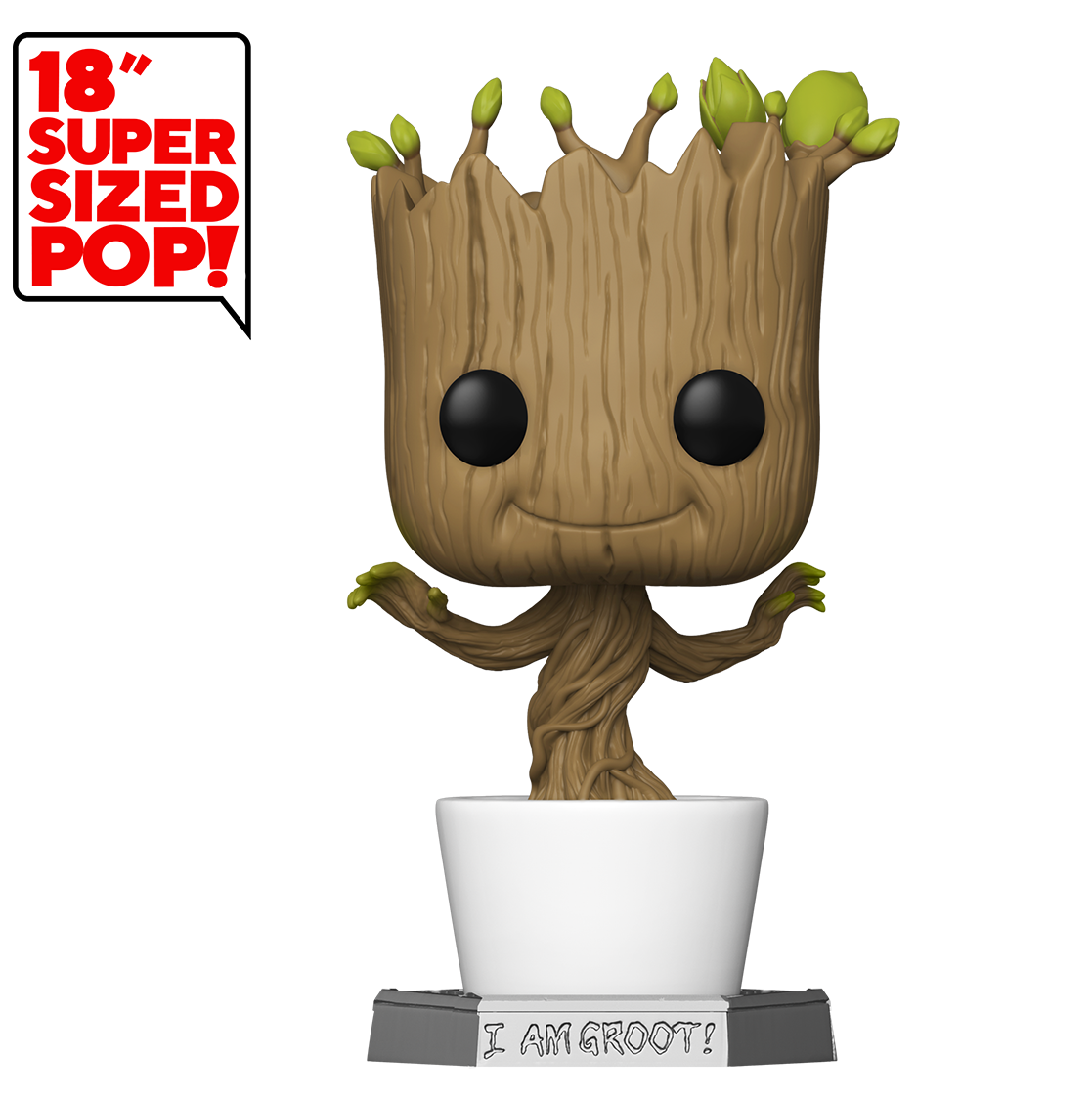 "Guardians of the Galaxy: Groot (Dancing) - 18"" Super-Sized Pop! Vinyl Figure image"
