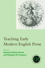 Teaching Early Modern English Prose image