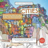 Fantastic Cities 2018 Wall Calendar