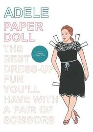 Adele Paper Doll by Mel Elliott