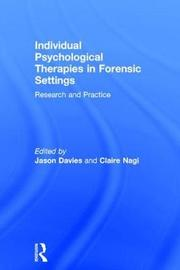 Individual Psychological Therapies in Forensic Settings image