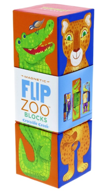Crocodile Creek: Rainforest Animals - Block Puzzle (3pcs)