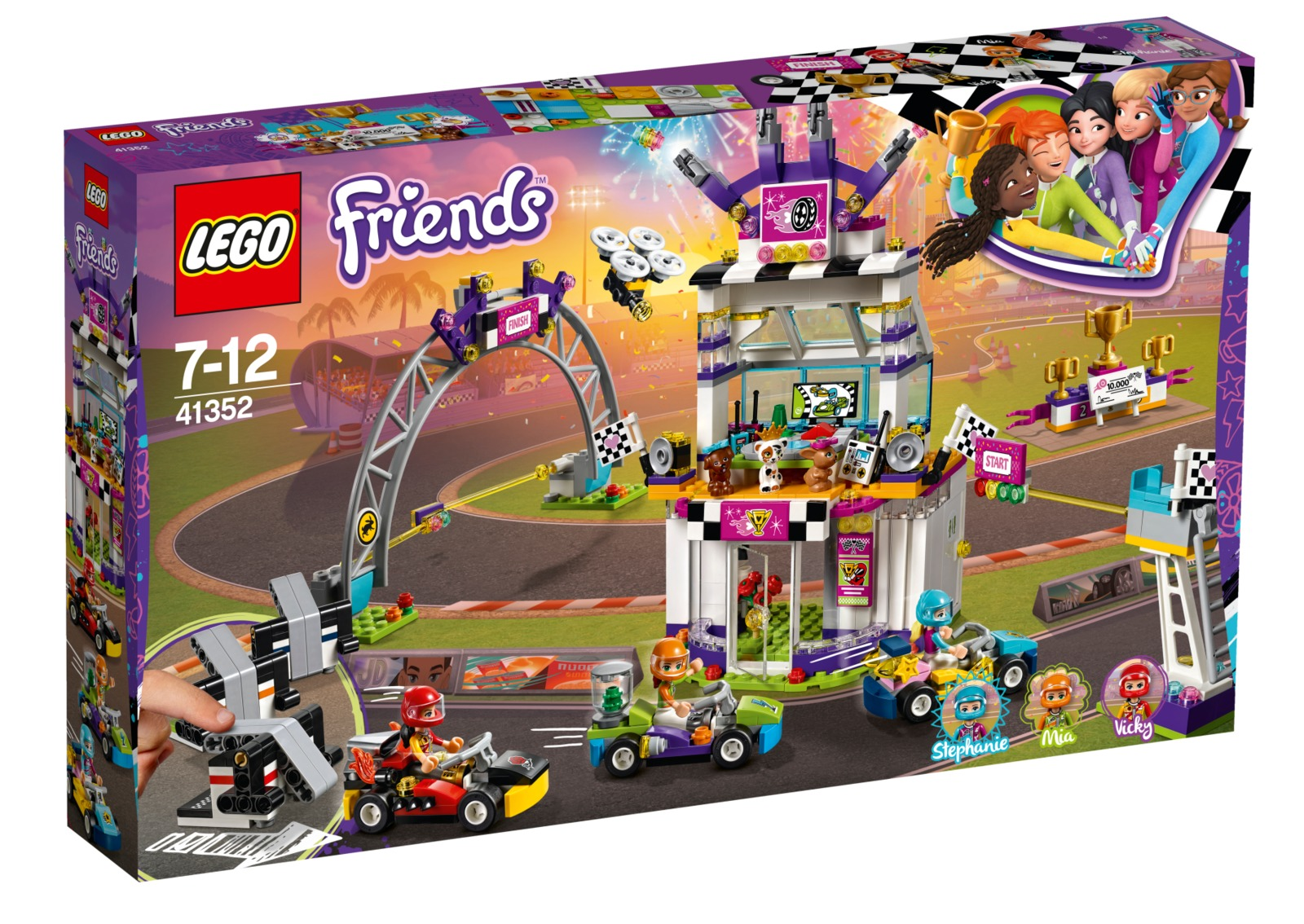 LEGO Friends - The Big Race Day (41352) image