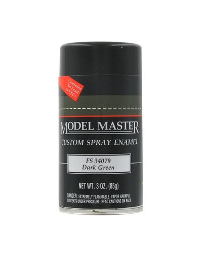 Model Master: Enamel Aerosol - Dark Green (Flat) image
