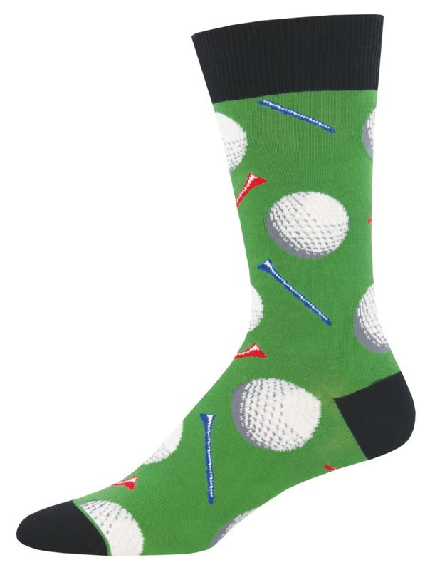 Men's Tee It Up Crew Socks - Green