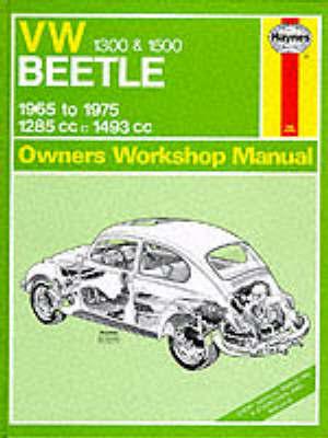 Volkswagen Beetle 1300/1500 Owner's Workshop Manual by J.H. Haynes image