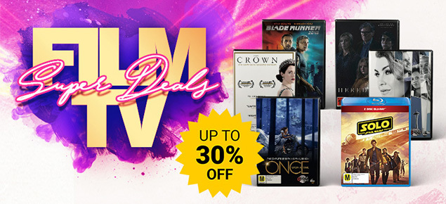 Film & TV Super Deals! Save up to 30% off!