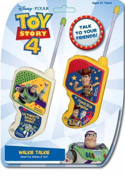 Toy Story 4 Walkie Talkie