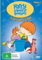 Harry And His Bucket Full Of Dinosaurs - Vol. 1 on DVD