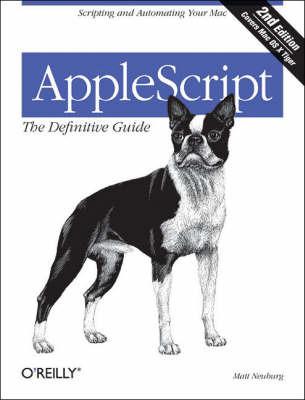 AppleScript by Matt Neuberg image