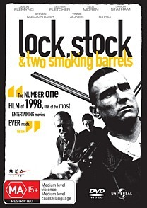 Lock Stock and Two Smoking Barrels on DVD image