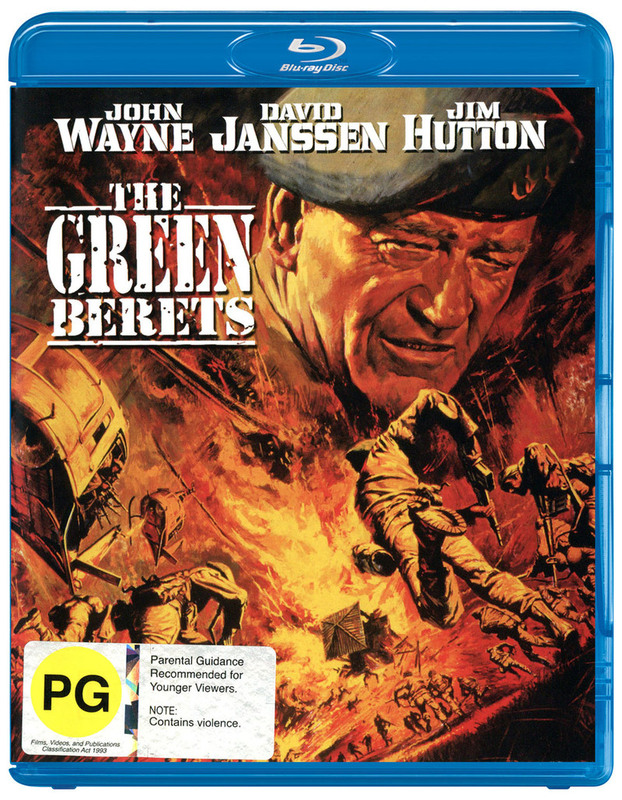 The Green Berets on Blu-ray