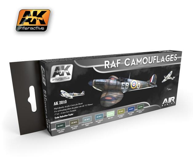 AK-2010 RAF Camouflage Colours Set