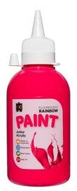 EC Colours - 250ml Rainbow Acrylic Paint - Fluoro Pink