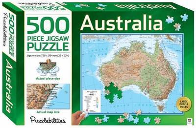 Puzzlebilities: 500 Piece Puzzle - Australia