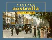 Vintage Australia 2019 Horizontal Wall Calendar