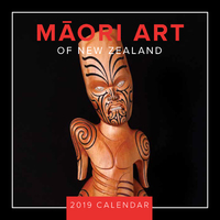 Maori Art 2019 Square Wall Calendar