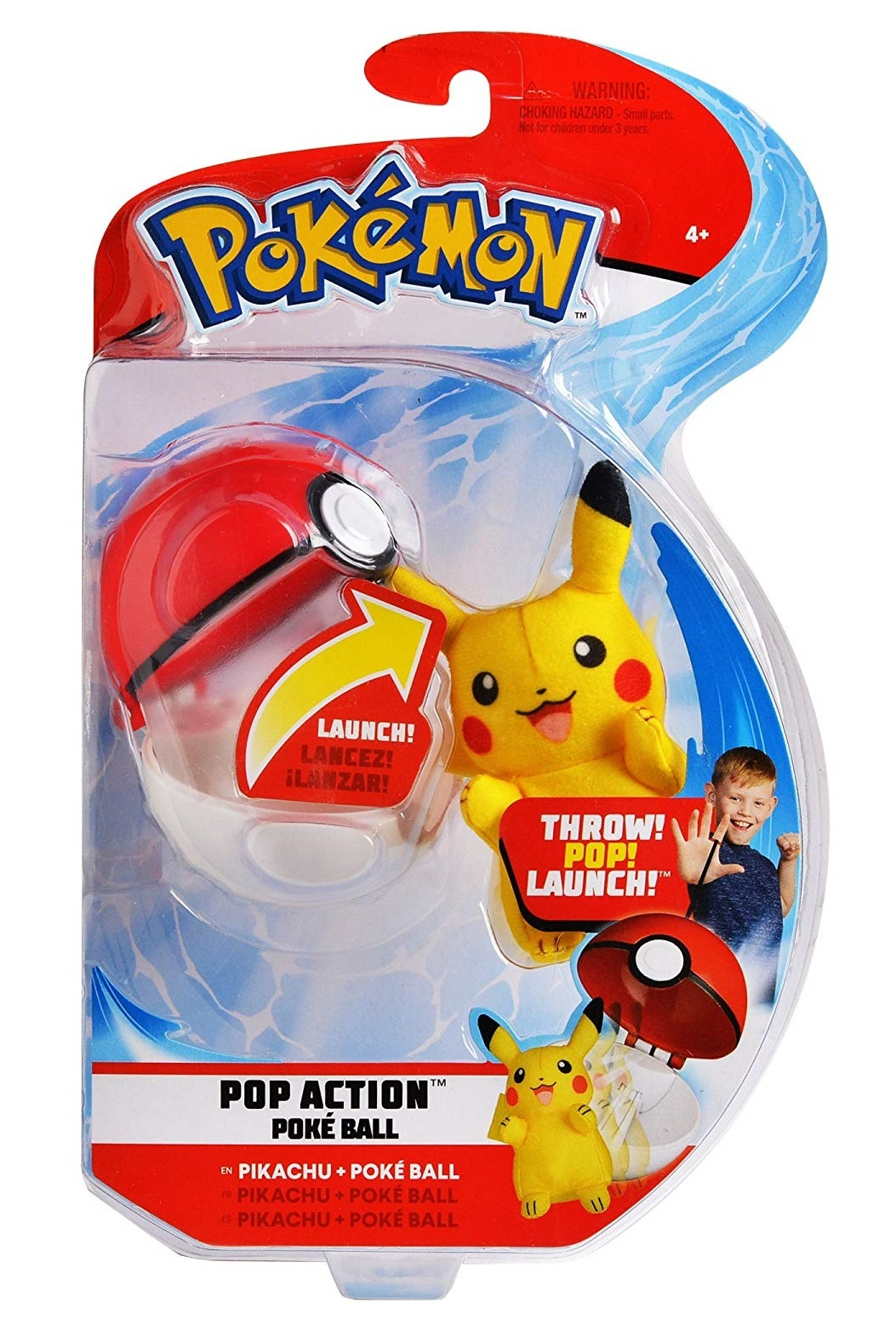 Pokemon: Pop Action Poke Ball - Pikachu image
