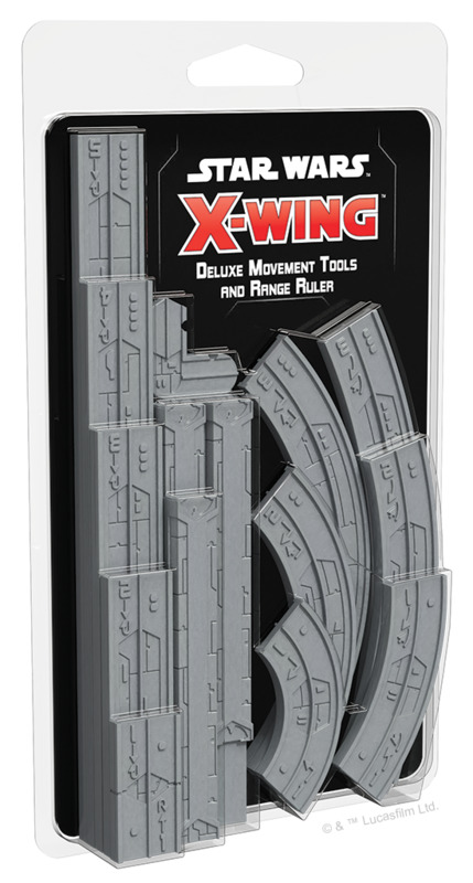 Star Wars X-Wing: 2nd Edition - Deluxe Movement Tools & Range Ruler